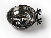 MidWest Snapy Fit Stainless Steel / Миска Мидвест для клеток и вольеров Нержавеющая сталь