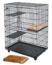 Заказать MidWest Plush Cat Bed / Лежанка в клетку для кошек Плюшевая по цене 910 руб