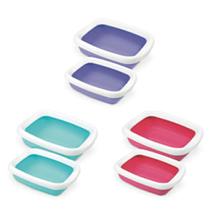 Заказать MPS Beta Mini Maxi / туалет-лоток с рамкой (цвета: бирюзовый, розовый, фиолетовый) по цене 480 руб