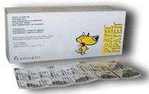 Заказать Novartis / Прател антигельминтик для кошек и собак 100 таб. по цене 3820 руб
