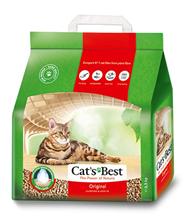 Cats Best Original / Наполнитель для кошачьего туалета Кэтс Бест Ориджинал Древесный комкующийся