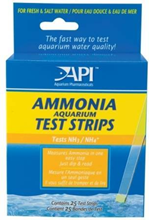 Api Ammonia Aquarium Test Strips / Тест-полоски Апи для определения уровня аммиака