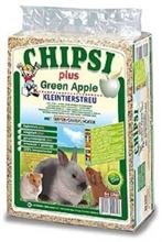 """Chipsi Plus Green Apple / Наполнитель Чипси для грызунов Опилки древесные ароматизированные """"Зеленое Яблоко"""""""