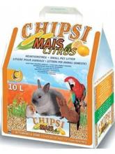"""Chipsi Mais Citrus / Наполнитель Чипси для грызунов Кукурузный ароматизированный """"Цитрус"""""""