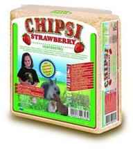 """Chipsi Strawberry / Наполнитель Чипси для грызунов Опилки древесные ароматизированные """"Клубника"""""""