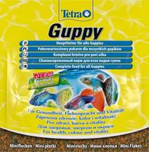 Tetra Guppy / Корм Тетра в хлопьях для гуппи 12 г (sachet)