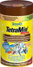 "Tetra Menu / Корм Тетра для всех видов рыб ""4 вида"" мелких хлопьев 100 мл"