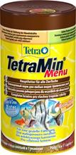"Tetra Menu / Корм Тетра для всех видов рыб ""4 вида"" мелких хлопьев 250 мл"