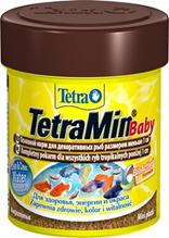 Tetra Min Baby / Корм Тетра для мальков до 1 см мелкая крупа 66 мл
