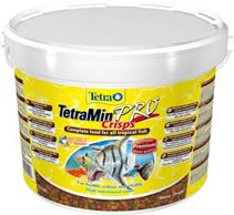 Tetra Min Pro Crisps / Корм Тетра-чипсы для всех видов рыб 10 л (ведро)