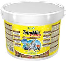 Tetra Min XL / Корм Тетра для всех видов рыб крупные хлопья 10 л (ведро)