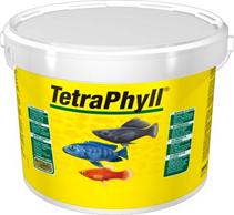 Tetra Phyll / Корм Тетра для всех видов рыб растительные хлопья 10 л (ведро)
