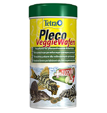 Tetra Pleco Veggie Wafers / Корм Тетра для сомиков-присосок 250 мл