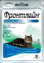 Merial / Фронтлайн Спот-Он для кошек пипетка 0,5 мл
