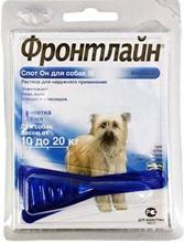 Merial / Фронтлайн Спот-Он для собак 10-20 кг M пипетка 1,34 мл