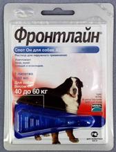Merial / Фронтлайн Спот-Он для собак 40-60 кг XL пипетка 4,02 мл