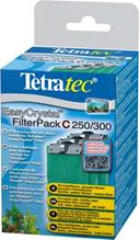 Tetra EC 250 / 300 C фильтрующие картриджи с углем для внут.фильтров EasyCrystal 250/300 3 шт.