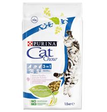 Purina Cat Chow Feline 3в1 / Сухой корм Пурина Кэт Чау для кошек Тройная защита