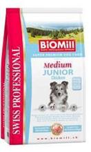 Заказать BioMill Swiss Professional Medium Junior Sensitive Lamb & Rice / Сухой корм для привередливых и проблемных Щенков Средних пород по цене 5420 руб
