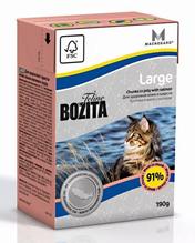 Bozita Feline Funktion Large / Влажный корм Бозита для кошек Крупных пород кусочки в желе (цена за упаковку)