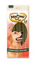 Заказать Мнямс Лакомство для собак Зубные палочки-звезды 17,5 см размер М  по цене 110 руб