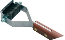 Show Tech / Стриппинг Шоу Тех с деревянной ручкой для экстра-мягкой шерсти 26 ножей