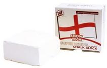Show Tech English Magnesium Chalk Block / Мелок Шоу Тех на основе Магния Прямоугольный Белый