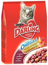 Заказать Darling / Сухой корм для кошек с Мясом и Овощами по цене 330 руб