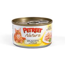 Petreet / Консервы Петрит для кошек Куриная грудка (цена за упаковку)