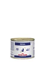 Заказать Royal Canin Renal S / O Chicken / Ветеринарный влажный корм (Консервы) Роял Канин Ренал для кошек Заболевание почек (хроническая почечная недостаточность) с Курицей (цена за упаковку) по цене 1290 руб