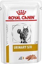 Royal Canin Urinary S / O / Ветеринарный влажный корм (Паштет) Роял Канин Уринари для кошек при заболеваниях дистального отдела мочевыделительной системы (цена за упаковку)