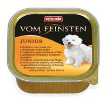 Animonda Vom Feinsten Junior / Консервы Анимонда для Щенков и юниоров с мясом домашней Птицы и Сердцем индейки (цена за упаковку)