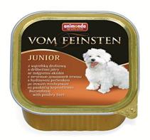Animonda Vom Feinsten Junior / Консервы Анимонда для Щенков и юниоров с Печенью домашней птицы (цена за упаковку)
