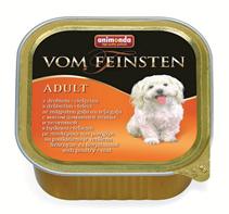Animonda Vom Feinsten Classic / Консервы Анимонда для собак с мясом домашней Птицы и Телятиной (цена за упаковку)