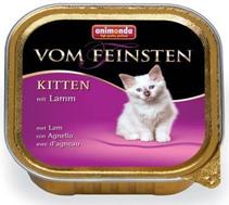 Animonda Vom Feinsten Kitten / Консервы Анимонда для Котят с Ягнёнком (цена за упаковку)