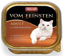 Animonda Vom Feinsten Adult / Консервы Анимонда для кошек с Куриной Печенью (цена за упаковку)