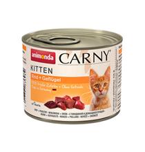 Animonda Carny Kitten / Консервы Анимонда для Котят с Говядиной и Домашней Птицей (цена за упаковку)