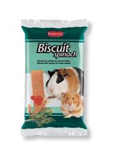 Padovan Biscuit spinach / Лакомство Падован для грызунов бисквиты со Шпинатом