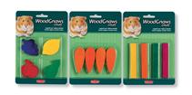 Заказать Игрушки WOOD GNAWS criceti деревянные д / грызунов маленькие  /4шт в блистере по цене 180 руб
