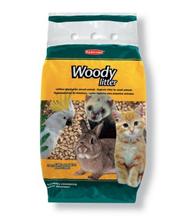 Padovan Наполнитель Woody litter древесный наполнитель для кошек, птиц и мелких домашних животных (5кг / 10л)