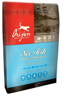 Заказать Orijen Adult Six Fish Hypoallergenic 85 / 15 No Grain Сухой корм Беззерновой для собак Гипоаллергенный 6 Видов Рыбы по цене 460 руб