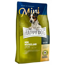 Happy Dog Supreme Mini New Zealand Lamm & Reis / Сухой корм Хэппи Дог для собак Мелких пород Новая Зеландия (Ягненок с рисом)
