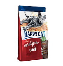 Happy Cat Supreme Voralpen-Rind / Сухой корм Хэппи Кэт для кошек Альпийская Говядина