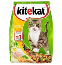 Kitekat / Китикет Сухой корм для кошек Аппетитная Курочка