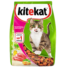 Kitekat / Китикет Сухой корм для кошек Аппетитная Телятинка