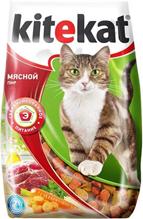 Kitekat / Китикет Сухой корм для кошек Мясной пир