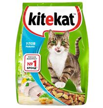 Kitekat / Китикет Сухой корм для кошек Улов Рыбака