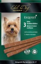Заказать Edel Dog / Жевательные Колбаски для собак Заяц и Печень по цене 130 руб