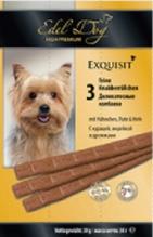 Заказать Edel Dog / Жевательные Колбаски для собак Курица, Индейка, Дрожжи по цене 130 руб