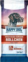 Happy Dog Rollchen / Лакомство для собак Жевательные Колбаски с Рубцом